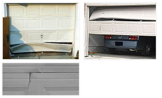 Replacement Of Defective Garage Door Panels San Jose